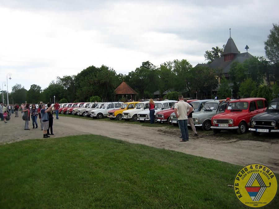2. Nomadski vikend na Paliću, maj 2012 by Renault 4 in 2012.