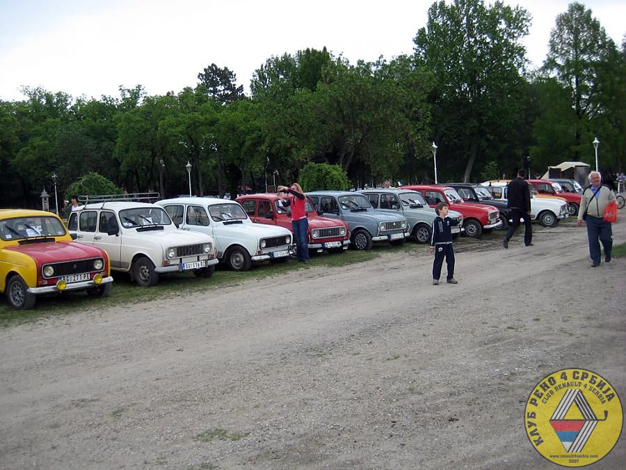 2. Nomadski vikend na Paliću, maj 2012 by Renault 4 in 2012.