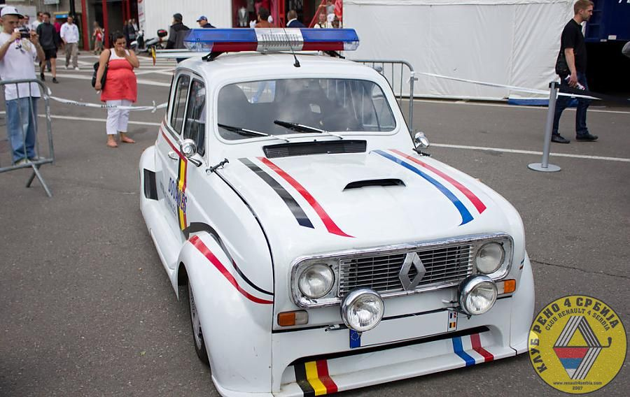 Renault 4 Interceptor
