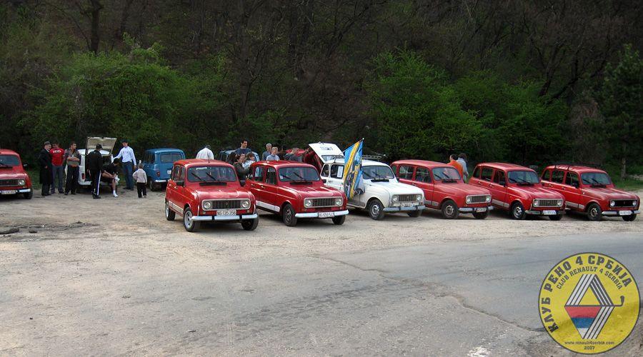Prvo okupljanje by Renault 4 in 2007.