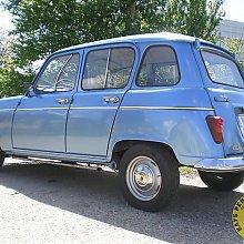 Plavi Renault R4TL by Neb_Mes_Ur_Mau in 2012.