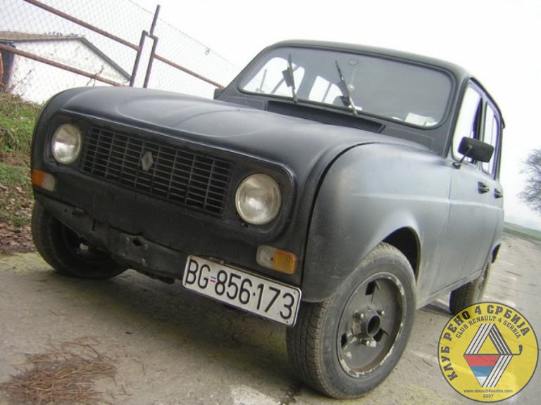 Renault 4 Stealth