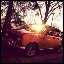 Tweety by Pasha in Moj Renault 4