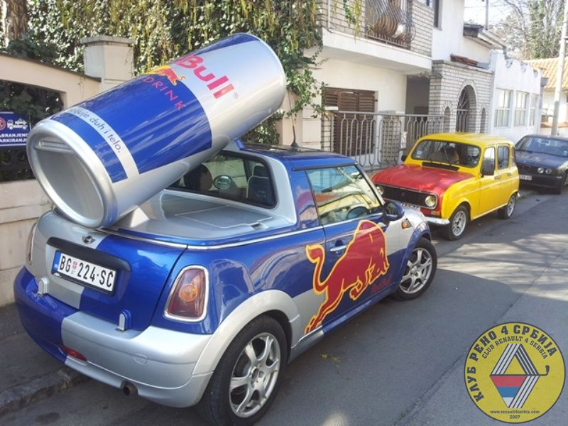 redbull by Pasha in Renault 4 Tuning & Styling
