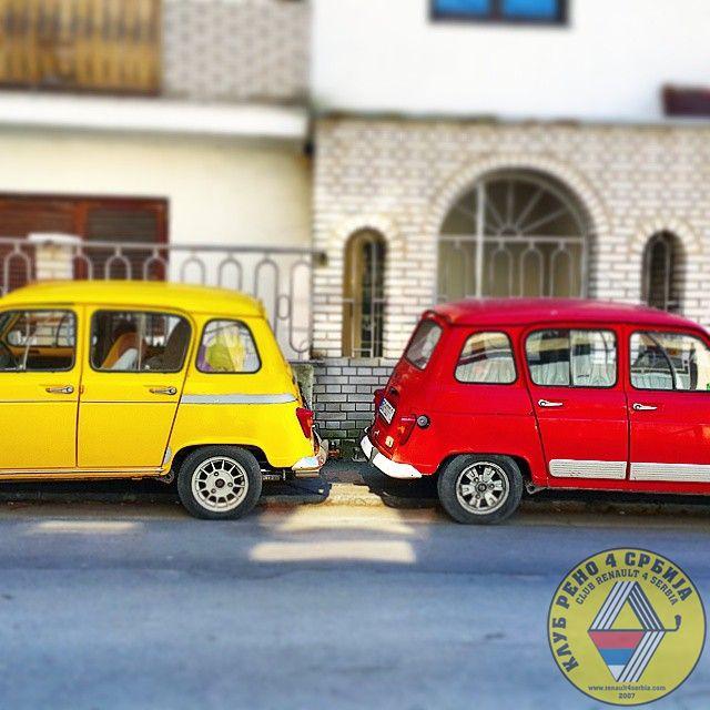 R4 x 2 by Italijan in Klasični Renault 4